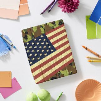 American Flag Camo iPad Cover