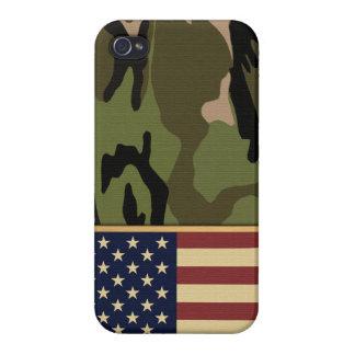 American Flag Camo iPhone 4 Case
