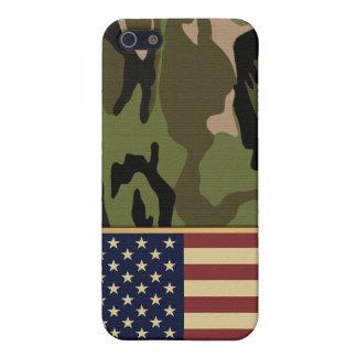 American Flag Camo iPhone 5 Case