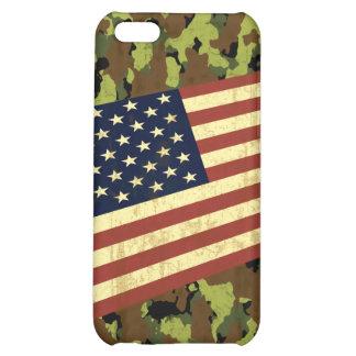 American Flag Camo iPhone 5C Cases