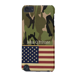 American Flag Camo Name template iPod Touch (5th Generation) Cover