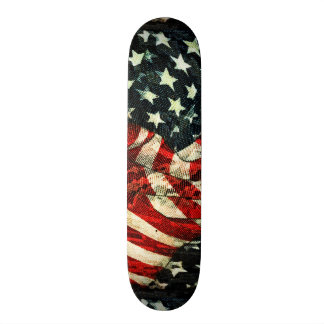 American Flag-Camouflage by Shirley Taylor 21.6 Cm Skateboard Deck