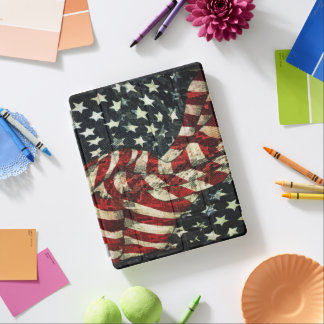American Flag-Camouflage iPad Cover