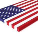 American Flag Canvas Prints