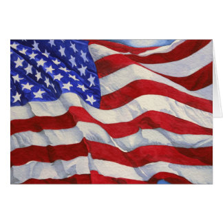 American Flag - Card