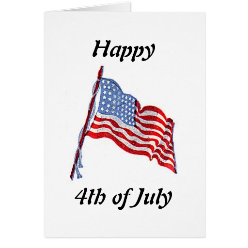 american-flag greeting cards