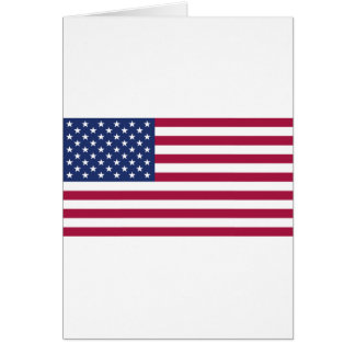 American Flag Cards