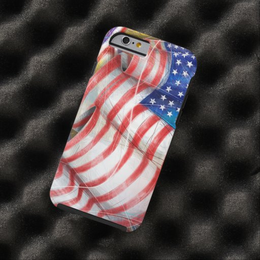 american flag iPhone 6 case