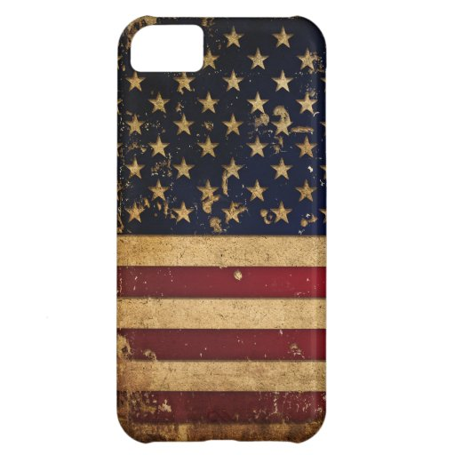 American Flag Cover For iPhone 5C
