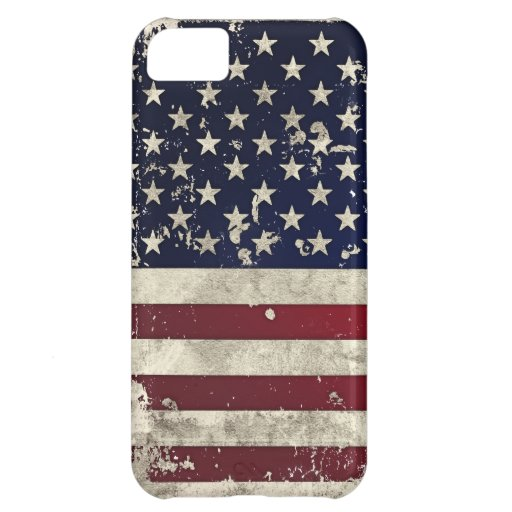 American Flag Case For iPhone 5C