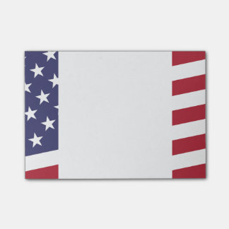American Flag - Celebrate the USA - July 4 Classic Post-it Notes