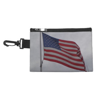 American Flag Clip Bag Accessory Bags
