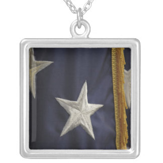 American Flag Closeup of Star Necklace