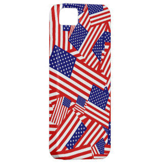 American Flag Collage iPhone 5 Case