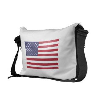 American Flag Commuter Bag