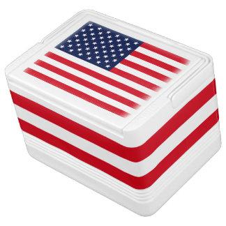 American Flag Cooler