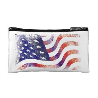American Flag Cosmetic/Travel Bag Cosmetic Bags