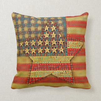 American Flag Cushion