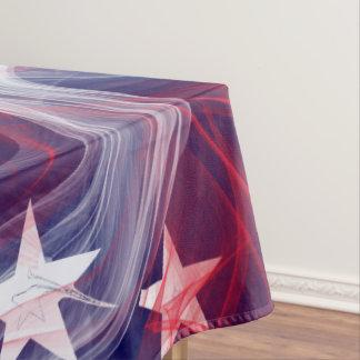 American flag Custom Cotton Tablecloth