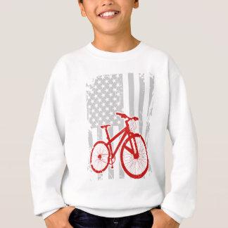 American Flag Cycling T-Shirt