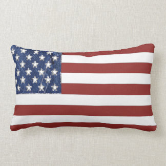 American Flag Decorative Pillow