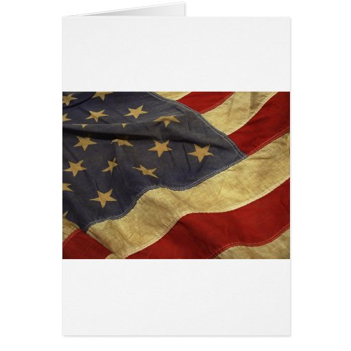 American flag design cards