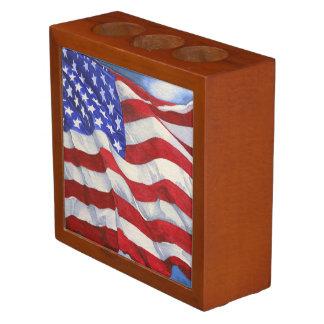 American Flag - Desk Organizer