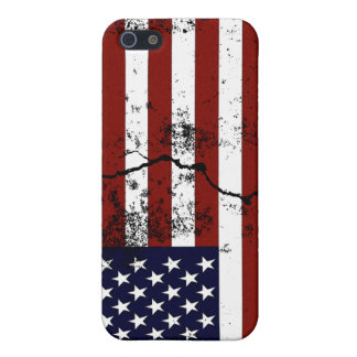 American Flag Distressed Case For iPhone 5