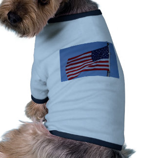 American Flag Pet T-shirt