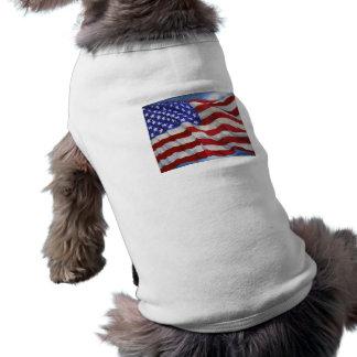 American Flag ~ Dog t-shirt