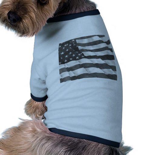 American Flag Doggie Shirt