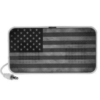 American Flag Doodle Speakers