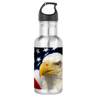 American Flag Eagle5 BPA Free Water Bottles