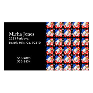 American Flag & Eagle Double-Sided Standard Business Cards (Pack Of 100)