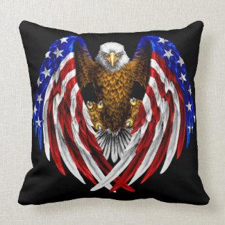 American Flag Eagle Cushion