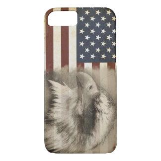 American Flag & Eagle iPhone 7 Case