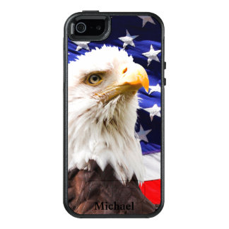 American Flag Eagle OtterBox iPhone 5/5s/SE Case