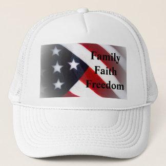 American Flag Family, Faith & Freedom Cap