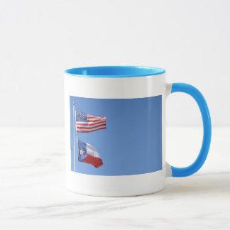American Flag Flags Texas Stars Stripes Mug