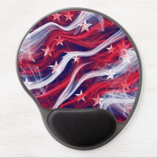 American flag Gel Mousepad
