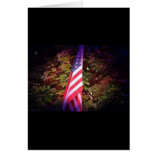 American Flag Gift Card