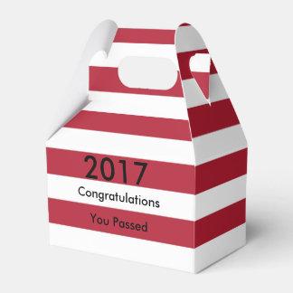 American Flag Graduation Favour Box
