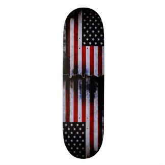 American Flag Grunge Custom Pro Slider Board Skateboard