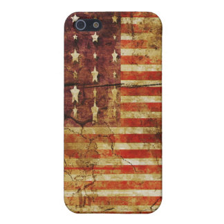 American Flag Grunge iPhone 4 Cover