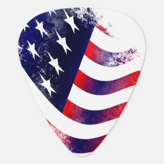 American flag guitar picks plectrum