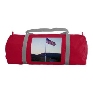 American flag gym bag gym duffel bag