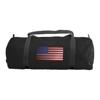 American Flag Gym Duffel Bag