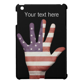American Flag Hand Cover For The iPad Mini