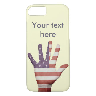American Flag Hand iPhone 7 Case