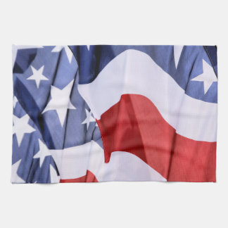 American Flag Hand Towels